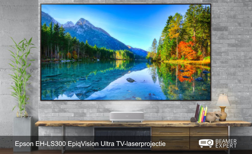 Epson EH-LS300 EpiqVision Ultra TV-laserprojector
