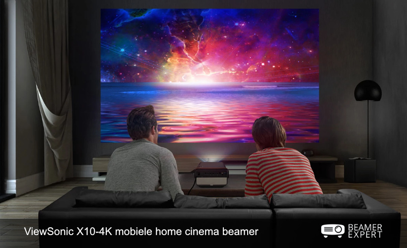 ViewSonic X10-4K mobiele home cinema beamer