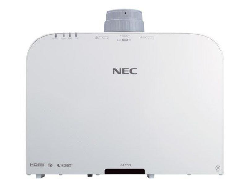 NEC NEC PA722X 7200ANSI lumens 3LCD XGA (1024x768) 3D Desktop Wit