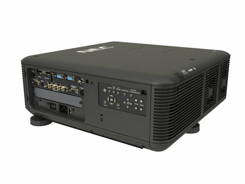 NEC NEC PX700W Installatie beamer