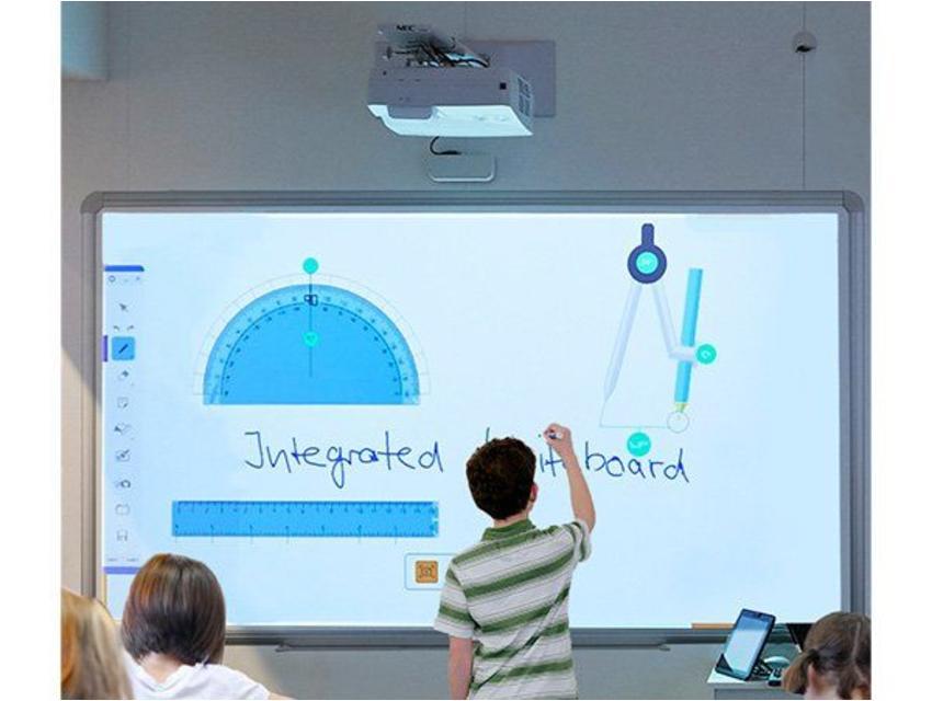 NEC UM301Wi beamer en whiteboard