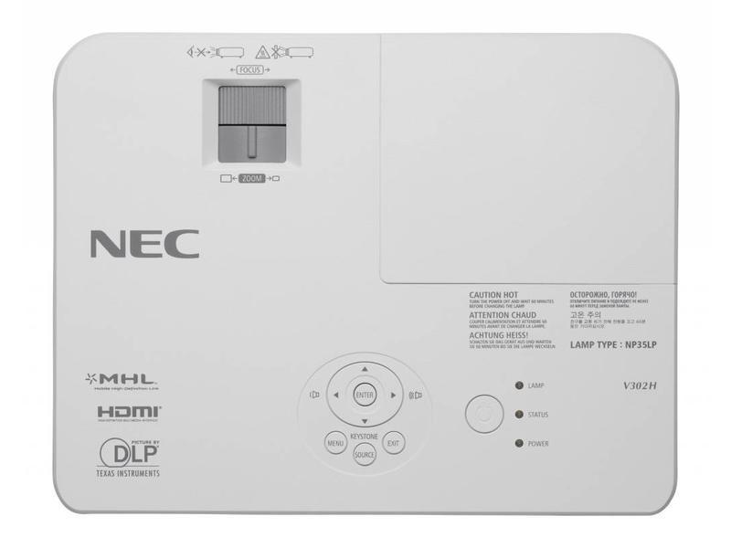 NEC NEC V302H zakelijke beamer