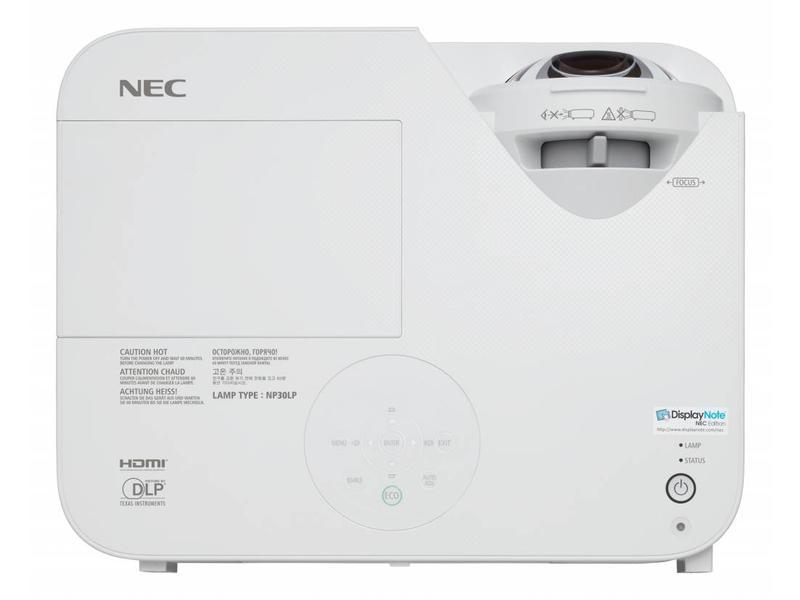 NEC NEC M353WS short throw beamer