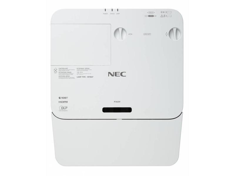 NEC NEC P502W Zakelijke beamer