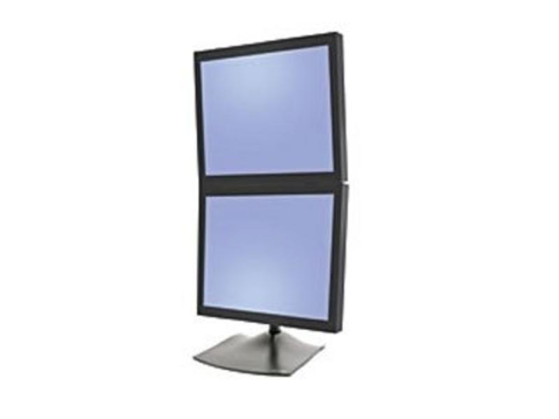 Ergotron Ergotron DS Series DS100 Dual Monitor Desk Stand, Vertical