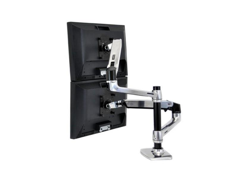 Ergotron Ergotron LX Series Dual Stacking Arm 45-248-026