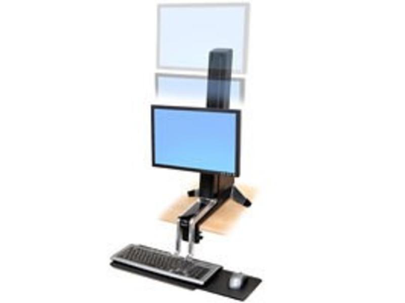 Ergotron Ergotron WorkFit-S, Single HD Sit-Stand Workstation