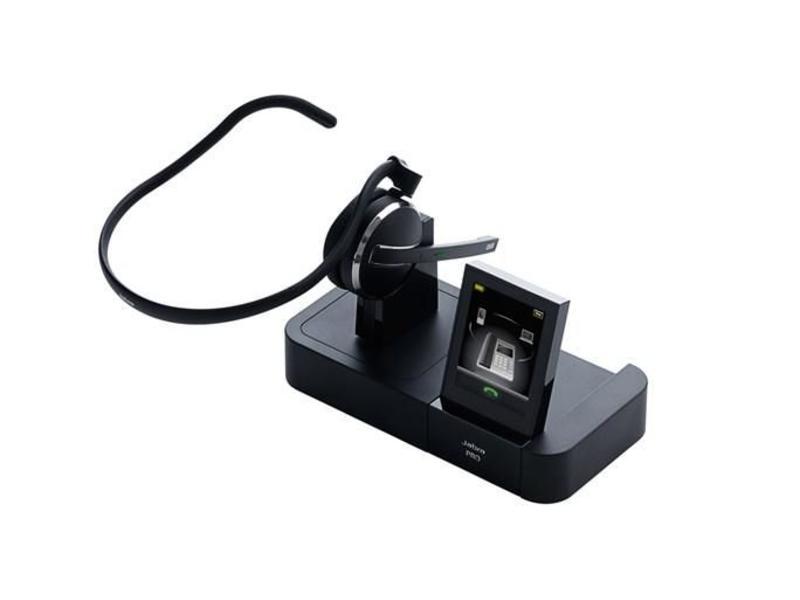 Jabra Jabra Pro 9470 Monauraal Hoofdband Zwart hoofdtelefoon