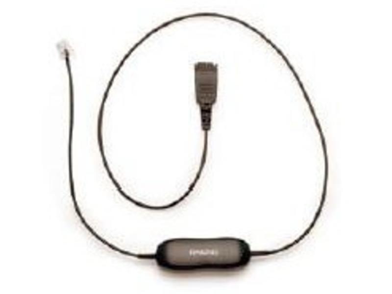 Jabra Jabra QD cord, straight, mod plug