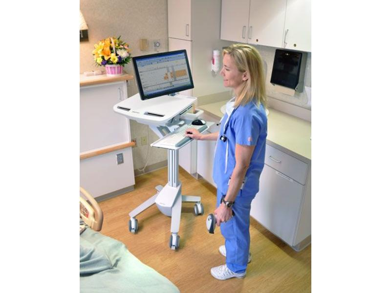 Ergotron Ergotron StyleView EMR Cart with LCD Arm