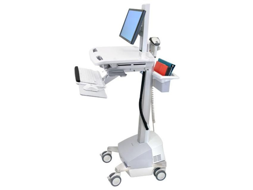 Ergotron StyleView EMR Cart with LCD Pivot, SLA Powered