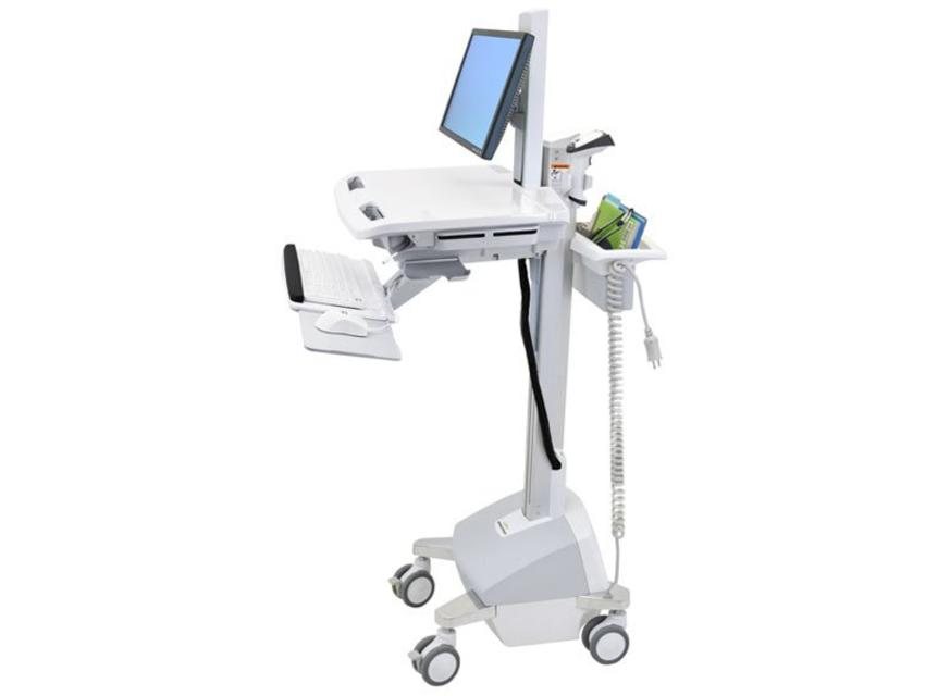 Ergotron StyleView EMR Cart with LCD Pivot, LiFe Powered, EU