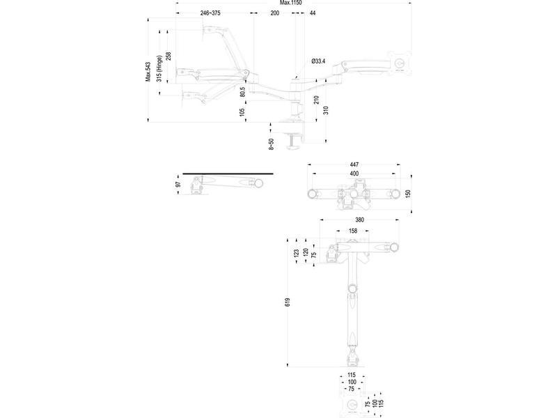 Newstar Newstar FPMA-D980D