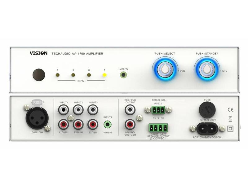 Vision Vision AV-1700 audio versterker