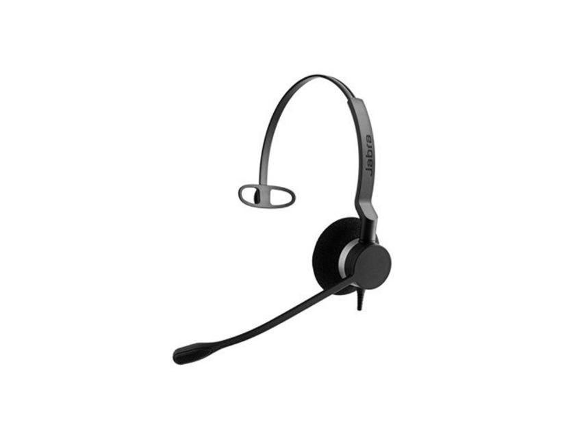 Jabra BIZ 2300 QD Mono Monauraal Hoofdband Zwart hoofdtelefoon