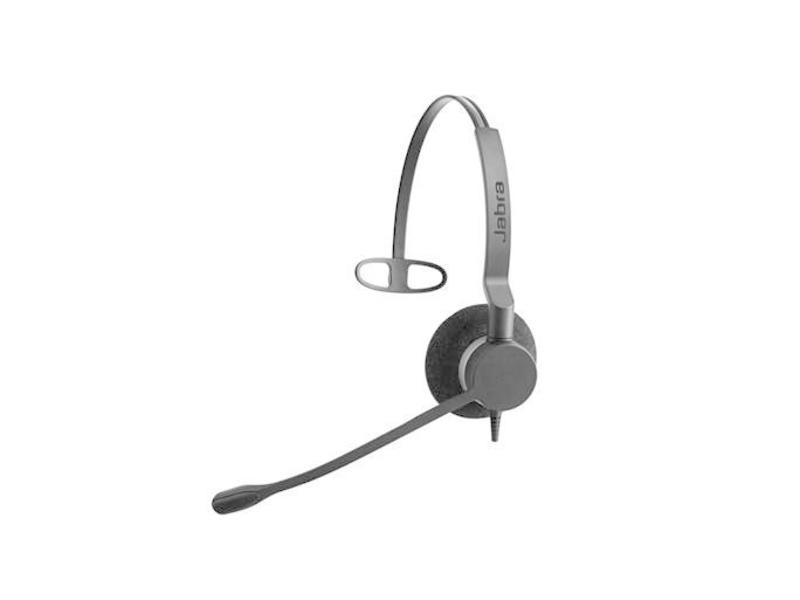 Jabra Jabra BIZ 2300 QD Mono Monauraal Hoofdband Zwart hoofdtelefoon