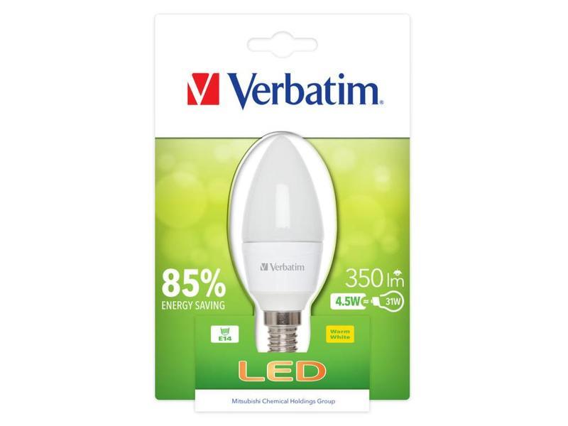 Verbatim Verbatim Candle Frosted E14 4.5W