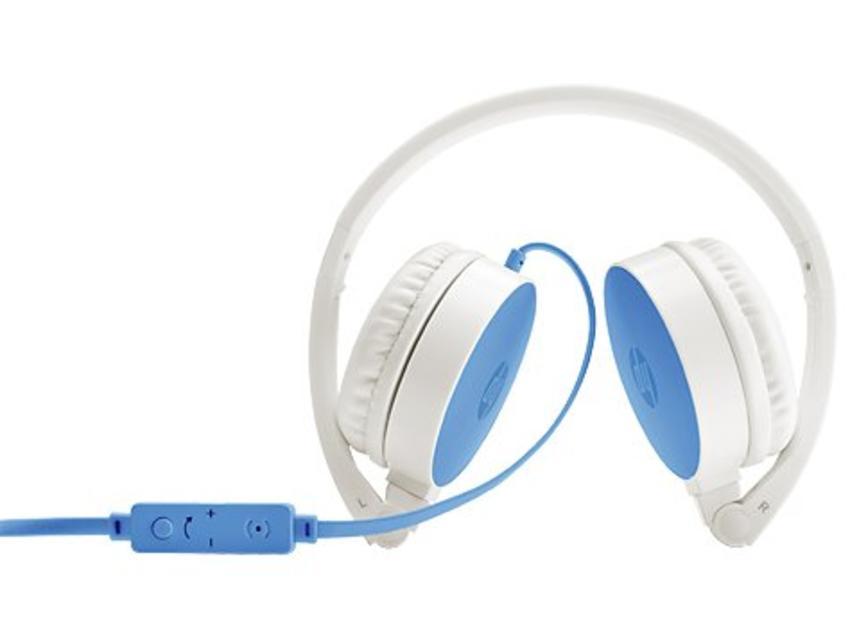 HP H2800 Stereofonisch Hoofdband Blauw, Wit hoofdtelefoon
