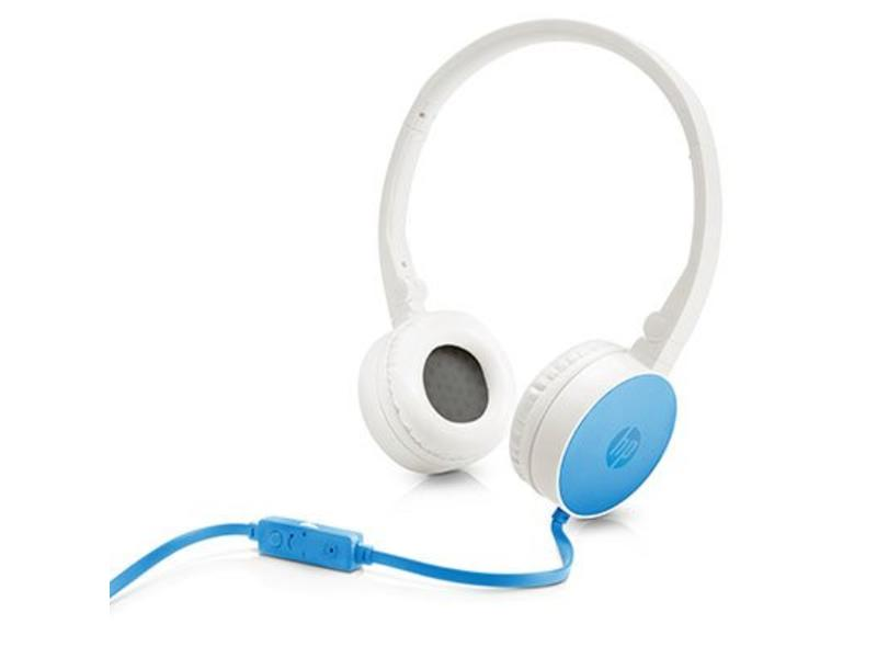 HP HP H2800 Stereofonisch Hoofdband Blauw, Wit hoofdtelefoon