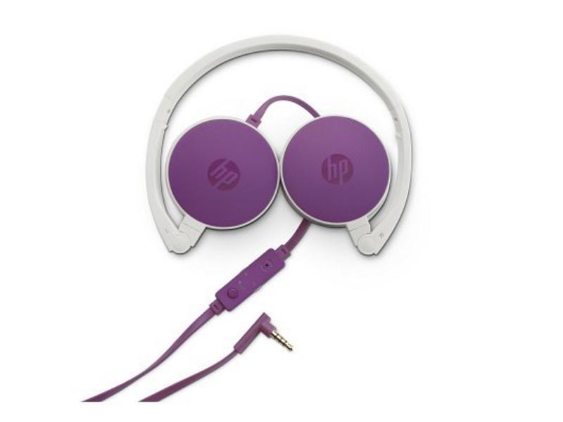 HP HP H2800 Purple Headset Stereofonisch Hoofdband Paars hoofdtelefoon