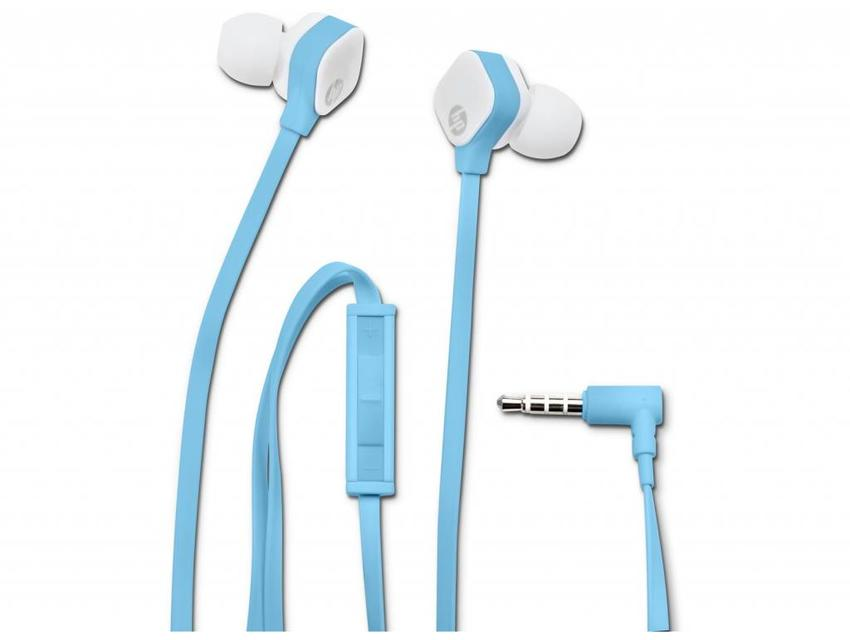 HP H2310 Blue In-ear Headset