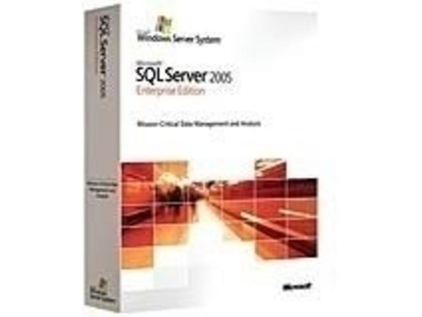 Microsoft SQL Server 2005 Enterprise Edition, x64 EN OLP NL AE