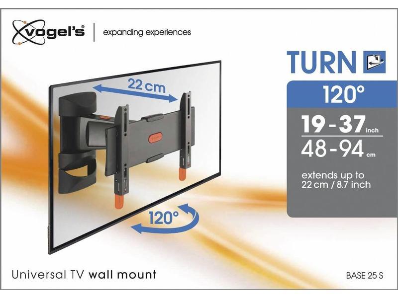 Vogel's Vogel's BASE 25 S Draaibare TV-muurbeugel