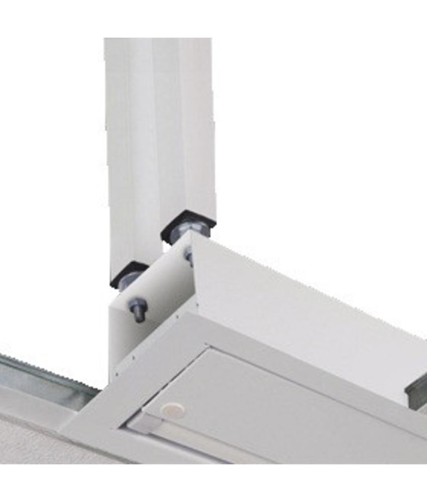 Projecta plafondbeugel M8 wit