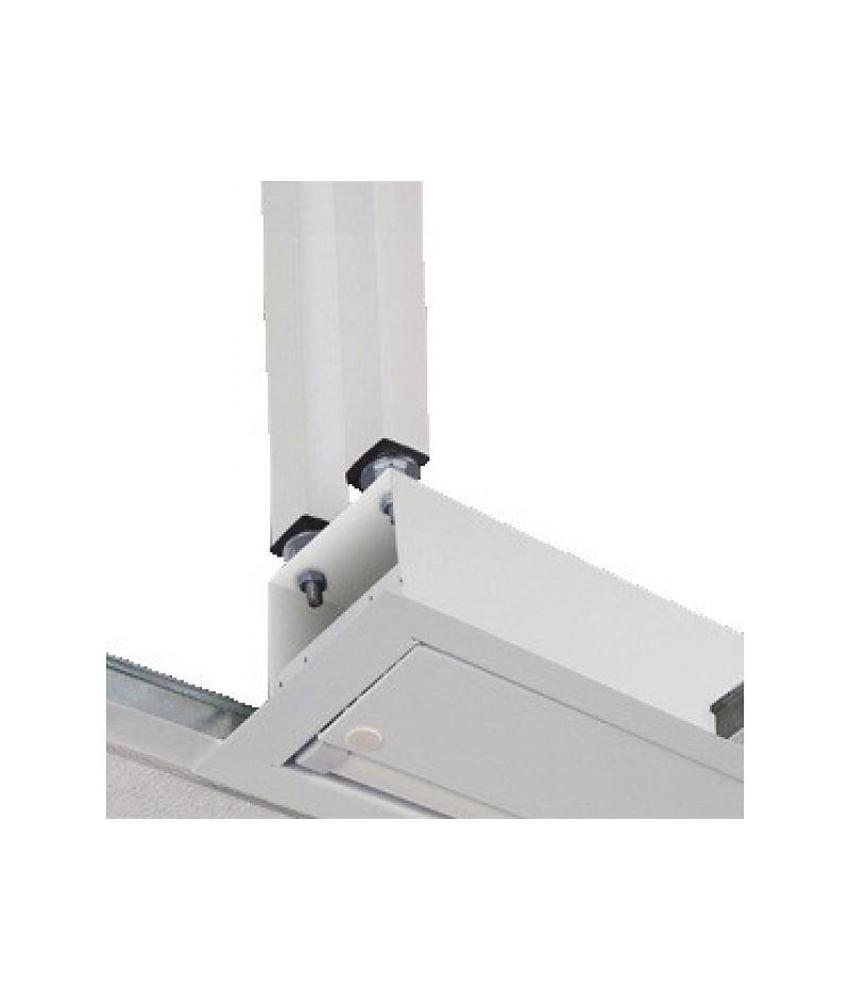 Projecta plafondbeugel M6 wit