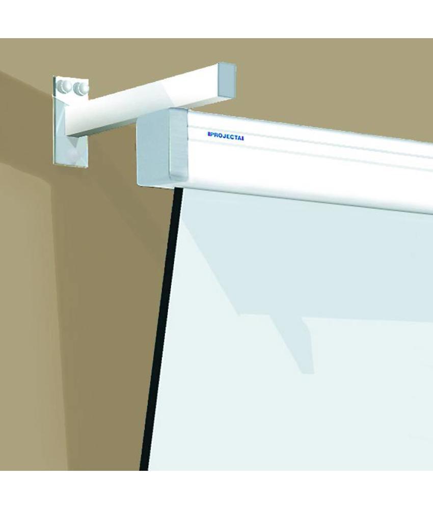 Projecta Wandbeugel SlimScreen RAL 7021