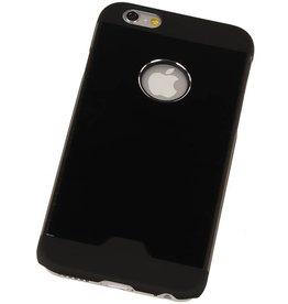 Lichte Aluminium Hardcase voor iPhone 6 Plus Zwart