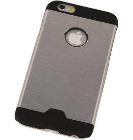 Lichte Aluminium Hardcase voor iPhone 6 Plus Zilver
