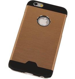 Lichte Aluminium Hardcase voor iPhone 6 Plus Goud