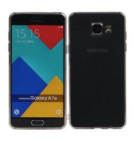 Transparent Dun TPU Hoesje voor Galaxy A7 ( 2016 ) A710F