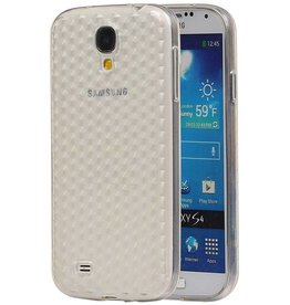 Diamant TPU Hoesjes voor Galaxy S4 i9500 Wit