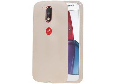 Motorola Moto E4 TPU & Siliconen & Glas