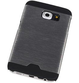 Lichte Aluminium Hardcase voor Galaxy S6 Edge G925F Zilver
