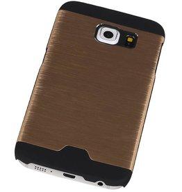 Lichte Aluminium Hardcase voor Galaxy S6 Edge G925F Goud