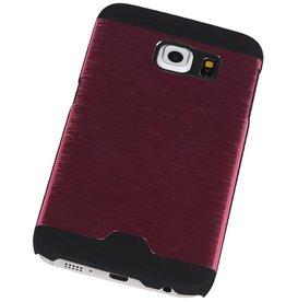Lichte Aluminium Hardcase voor Galaxy S6 Edge G925F Roze