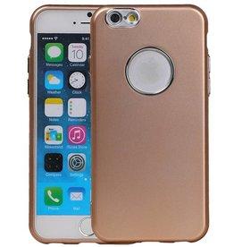 Design TPU Hoesje voor iPhone 6 / 6s Goud