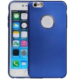 Design TPU Hoesje voor iPhone 6 / 6s Plus Blauw