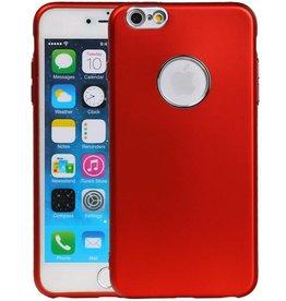 Design TPU Hoesje voor iPhone 6 / 6s Plus Rood