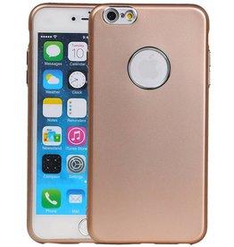 Design TPU Hoesje voor iPhone 6 / 6s Plus Goud