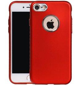 Design TPU Hoesje voor iPhone 7 / 8 Rood