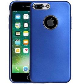 Design TPU Hoesje voor iPhone 7 Plus / 8 Plus Blauw