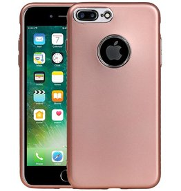 Design TPU Hoesje voor iPhone 7 Plus / 8 Plus Roze