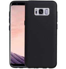 Design TPU Hoesje voor Galaxy S8 Plus Zwart