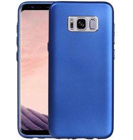 Design TPU Hoesje voor Galaxy S8 Plus Blauw