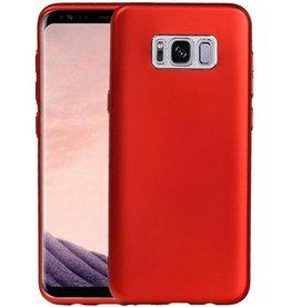 Design TPU Hoesje voor Galaxy S8 Plus Rood