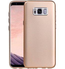 Design TPU Hoesje voor Galaxy S8 Plus Goud